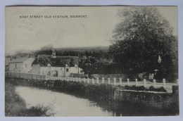 Postcard Bridport, Dorset, East Street Old Station, 1906 - Angleterre