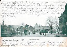 BERGEN  I V  GRUSS AUS  FALKENSTEINSTRASSE MIT STEMPEL 1902 - Non Classificati