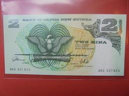 PAPOUASIE-NOUVELLE GUINEE 2 KINA 1992 UNC - Papouasie-Nouvelle-Guinée