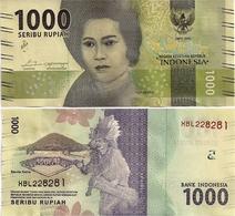 INDONESIA       1000 Rupiah      P-154c       2016/2018   UNC  [ REPLACEMENT ] - Indonesia