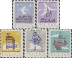 Pologne 1063-1067 (complète.Edition.) Oblitéré 1958 Post - Usati