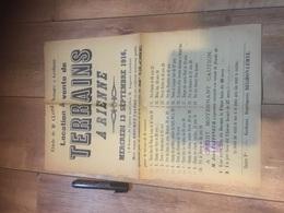 RIENNE 1916 Vente Et Location De Terrains - À VOIR - Affiches