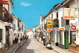 Espagne - Andalousie - TORREMOLINOS - Calle San Miguel - Costa Del Sol - Scooter - Publicité Quitapenas - Espagne