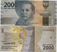 INDONESIA       2000 Rupiah      P-155b       2016/2017   UNC - Indonesia