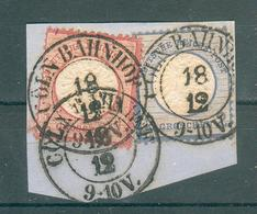 ALLEMAGNE , Empire ; 1872 ; Y&T N° 16-17 ; Oblitéré - Germany