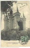 Le Chateau De FLAGHAC ..Cachet Octogonal  ...  (111854) - France