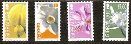 Gibraltar 2006 Yvertn° 1148-1151 *** MNH Cote 12,50 Euro Flore Fleurs Bloemen Flowers - Gibilterra