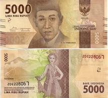 INDONESIA       5000 Rupiah      P-156c       2016/2018   UNC - Indonesia