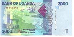 Uganda  P-50d  2000 Shilingi   2017  UNC - Uganda