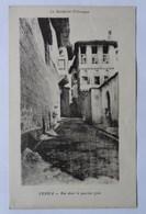 Verria, Véria, Macédoine, Rue Dans Le Quartier Grec, Carte écrite En 1919 - Grèce