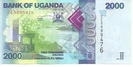 Uganda  P-50e  2000 Shilingi   2019  UNC - Ouganda