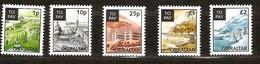 Gibraltar 1996 Yvertn° Taxe 20-25 Sans N° 23 *** MNH Cote 20,20 Euro Vues Anciennes - Gibraltar