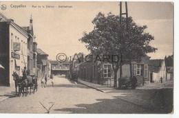 Postkaart/Carte Postale KAPELLEN Rue De La Station - Paard Met Kar (C194) - Kapellen