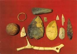 PIE.T-19-1783 : ARCHEOLOGIE. PREHISTOIRE. MUSEE DES EYZIES. SILEX TAILLES. - Dolmen & Menhirs