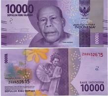 INDONESIA       10,000 Rupiah      P-157b       2016/2017   UNC  [ 10000 ] - Indonesia