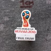Badge Pin ZN008120 - Football (Soccer / Calcio) World Championships FIFA Russia 2018 - Football