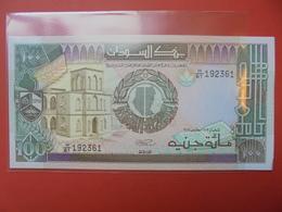 SOUDAN 100 POUNDS 1991 UNC - Soudan