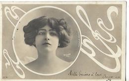 Carte ART NOUVEAU 1904 / Femme Artiste COLONA ROMANO / Reutlinger 177-9 - Artisti