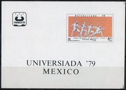 Messico Mexico 1979 - Giochi Universitari Mondiali University World Games 1979 Scherma Fencing MNH ** - Scherma