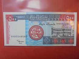 SOUDAN 500 DINARS 1998 UNC - Soudan