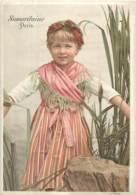 CHROMO GRANDS MAGASINS DE LA SAMARITAINE PARIS CALENDRIER 1892 - Autres