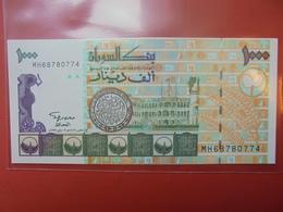 SOUDAN 1000 DINARS 1996 UNC - Soudan