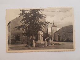 A 1168 - Awan Aywaille Le Monument Aux Morts - Aywaille