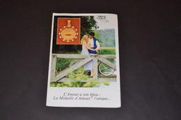 Mini Calendrier 1981 Médaille D'amour AUGIS - Calendriers