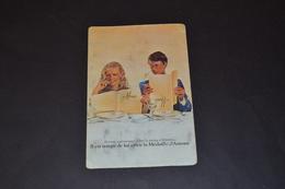 Mini Calendrier 1977 Médaille D'amour AUGIS - Calendriers