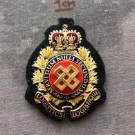 Badge Pin ZN008130 - Military (Army) Police Canada Logistics Branch - Militaria