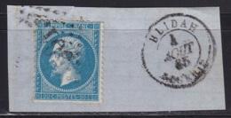 Algerie GC 5013 BLIDAH Sur Napoleon N°22 - 1852 Louis-Napoleon