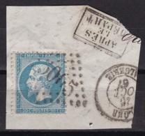 Algerie GC 5015 Bone Sur Napoleon N°22 - 1852 Louis-Napoleon