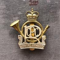 Badge Pin ZN008143 - Military (Army) Police Canada Postal Corps RCPC - Militari