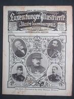 LUXEMBOURG - LUXEMBURGENSIA, L'Illustré Luxembourgeois, 1925 - 2ème Année N°4 - MUSIQUE MILITAIRE - FOOT LUXEMBOURG - Livres, BD, Revues