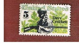 STATI UNITI (U.S.A.) - SG 1310 - 1967  DAVY CROCKETT  - USED° - Stati Uniti