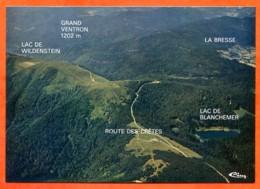 88 VOSGES TOURISTIQUES Vue Aérienne Route Des Cretes , Wildenstein , Grand Ventron  La Bresse , Blanchemer CIM Vierge - Andere Gemeenten