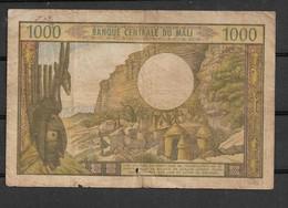Mali 1000 Fr  Good   Rare - Billets