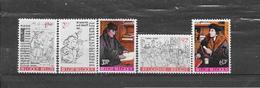 België 1967 Y&T Nr° 1427/31 (**) - Belgique