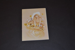 Mini Calendrier 1981 Dessin De TARA Femme Au Bord De L'eau Bijoux GUBIN - Calendriers