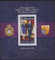 Gibraltar 2011 Yvertn° Bloc 98 *** MNH Cote 8,00 Euro Prince William Kate Middleton - Gibraltar