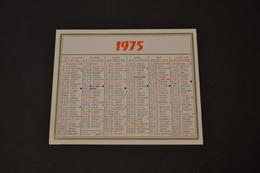 Mini Calendrier 1975 - Calendriers