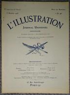 """L'Illustration 3944 5 Octobre 1918 Général Franchet D'Esperey/Montfaucon/De Monastir à Sofia/Cargo L'""""Invincible"""" U.S.A. - Journaux - Quotidiens"""