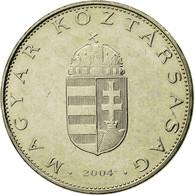 Monnaie, Hongrie, 10 Forint, 2004, Budapest, TTB, Copper-nickel, KM:695 - Hongrie