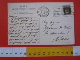 CA.15 ITALIA CARD - 1932 VENEZIA UNIONE SORDOMUTI ITALIANI USI PATRONATO PRINCIPE DI PIEMONTE SAVOIA  SALUTE HANDICAP - Salute