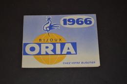 Mini Calendrier 1966 Bijoux ORIA - Petit Format : 1961-70