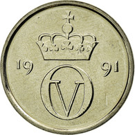 Monnaie, Norvège, Olav V, 10 Öre, 1991, SPL, Copper-nickel, KM:416 - Norvège