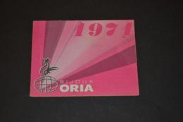 Mini Calendrier 1971 Bijoux ORIA - Calendriers