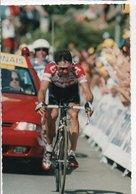 CYCLISME TOUR DE FRANCE    CP OPTIQUE SOCIALE  SERIE LIMITEE  CARLOS SASTRE - Cyclisme
