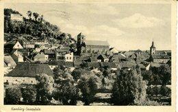007098  Homburg - Saarpfalz  1941  Mit Zugstempel - Saarpfalz-Kreis