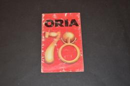 Mini Calendrier 1978 Bijoux ORIA - Calendriers